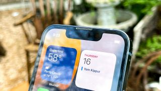photo of iPhone 13 Face ID notch