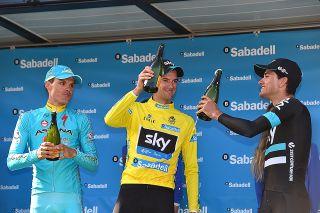 Wout Poels (Team Sky) wins the Volta a la Comunitat Valenciana