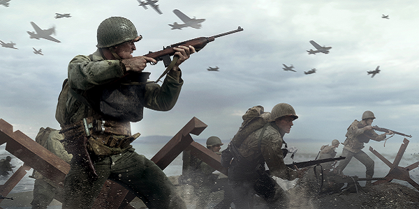 Storming Normandy in Call of Duty: World War II
