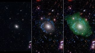 Strange 'Frankenstein Galaxy' UGC 1382