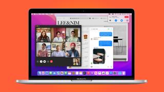 MacBook Pro running macOS Monterey
