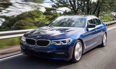 2017 Bmw 5 Series Review Precision Meets High Tech Street Smarts