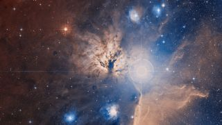 The Flame Nebula.