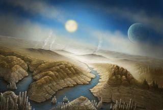 Surface of Kepler-452b, an Earth Cousin