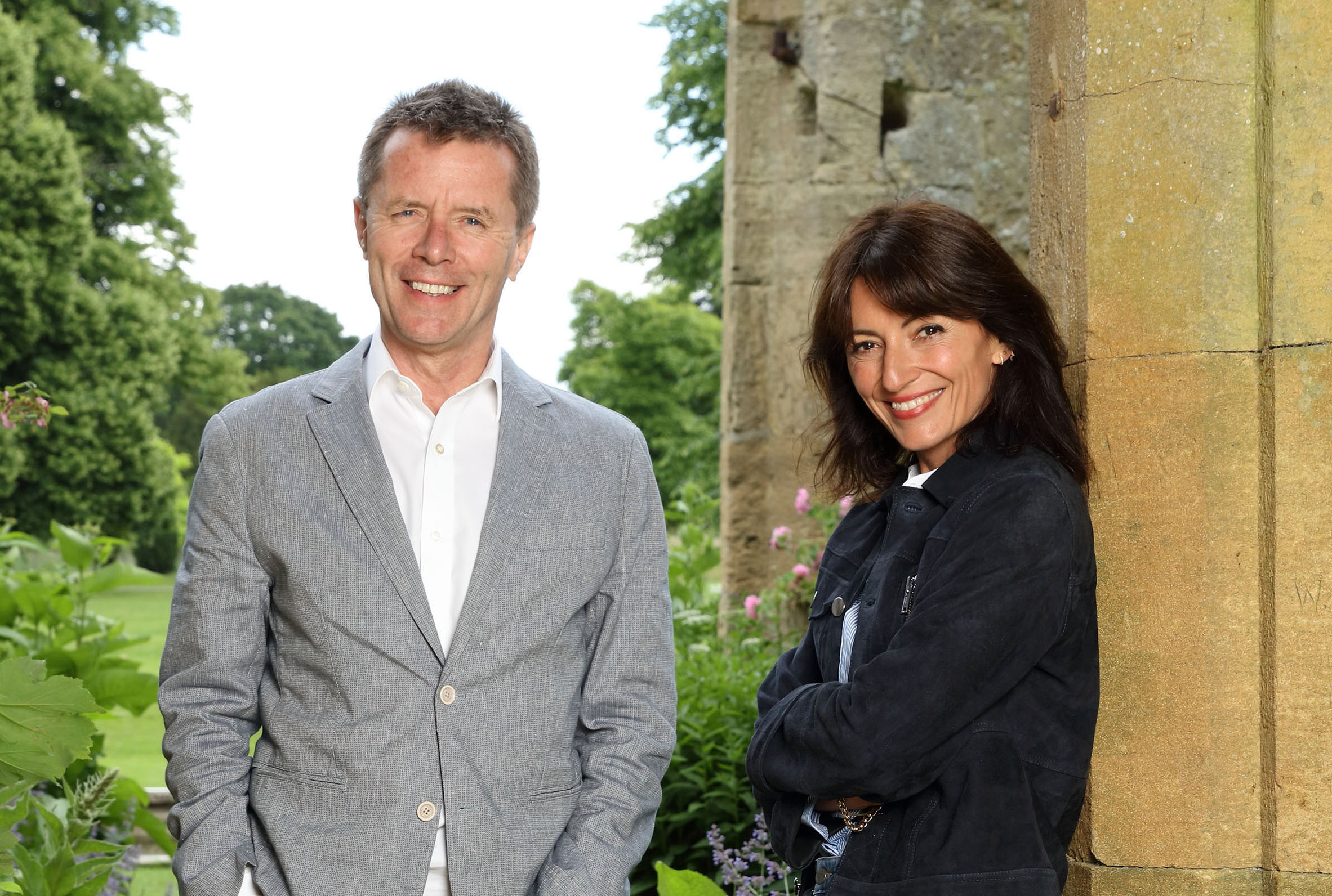 Nicky Campbell and Davina McCall TV tonight