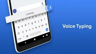 Google Keyboard - Easily accessible text to speech