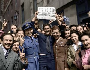 TV tonight VE Day in Colour: Britain's Biggest Party