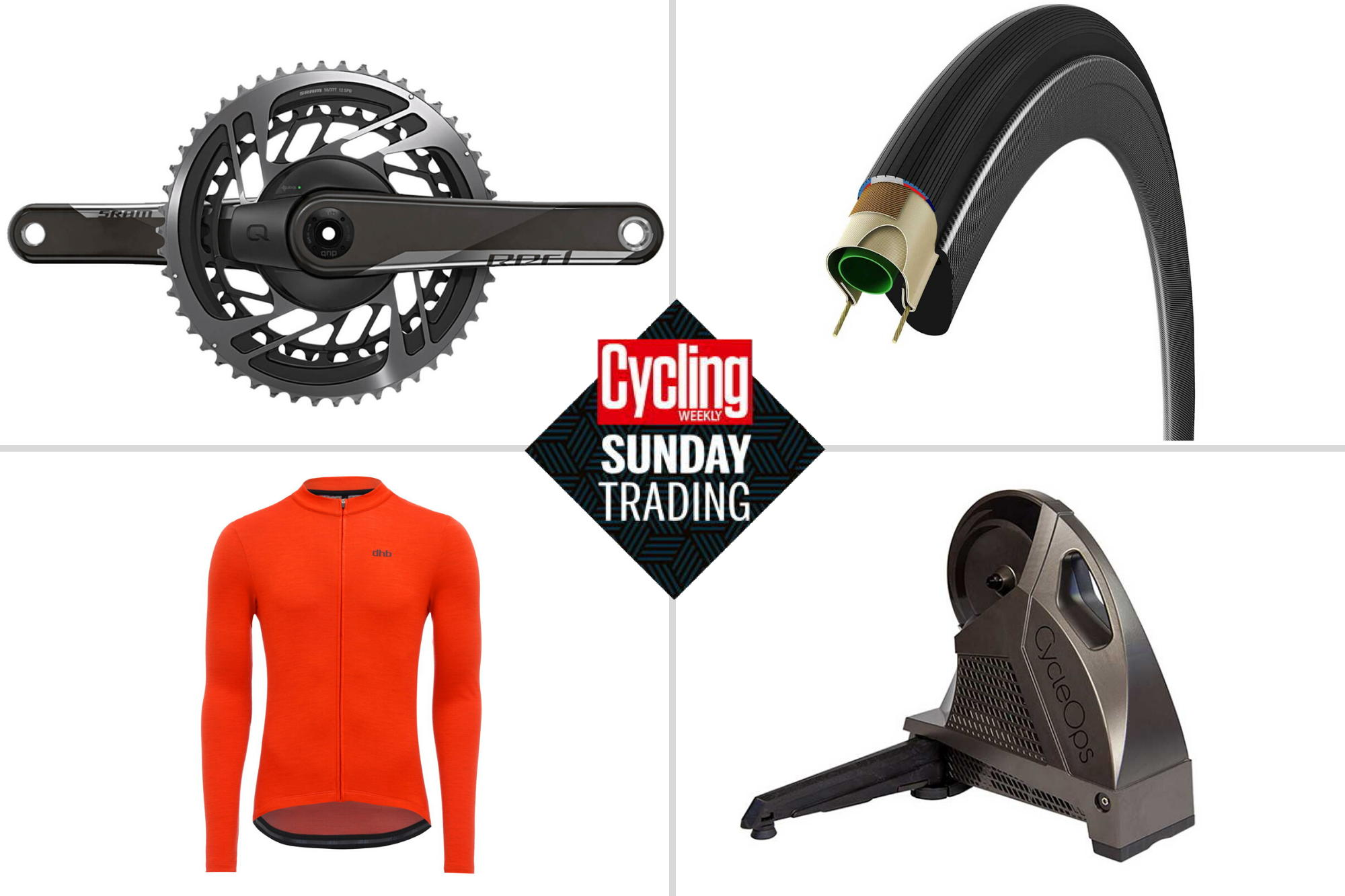 Sunday trading: Save over £350 on a CycleOps smart turbo plus much more