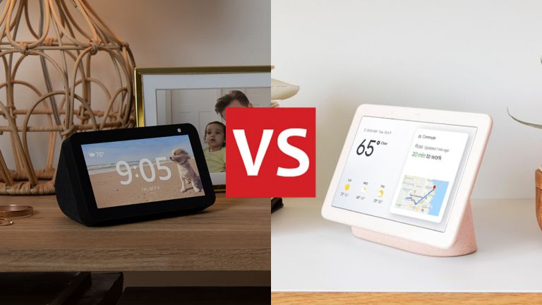 Amazon Echo Show 5 vs Google Nest Hub