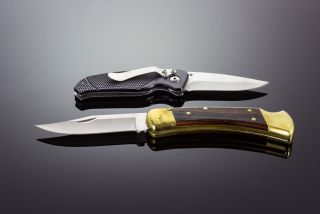 Two pocket knives