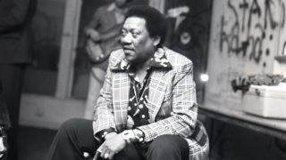 Bobby 'Blue' Bland backstage at the Whisky-A-Go-Go, Los Angeles.