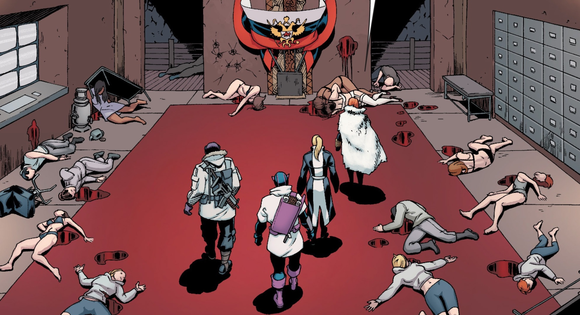 Black Widow: What is the Red Room in Marvel Comics? | GamesRadar+