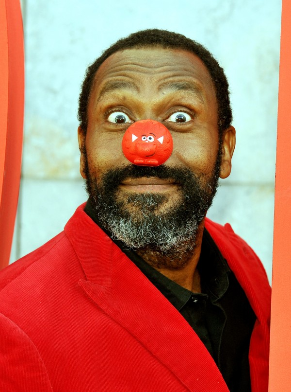 Lenny Henry is behind Comic Relief