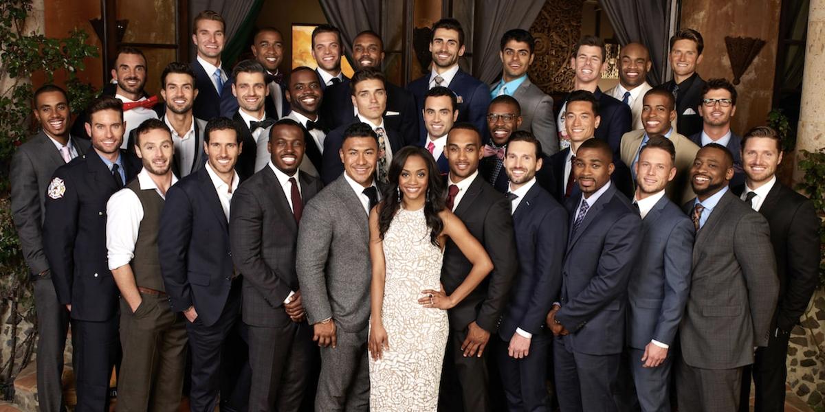 the bachelorette season 13 rachel lindsay and suitors abc 2017
