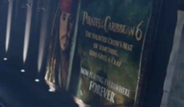 the good place pirates of the caribbean 6 the haunted crow's nest or something who gives a crap nbc