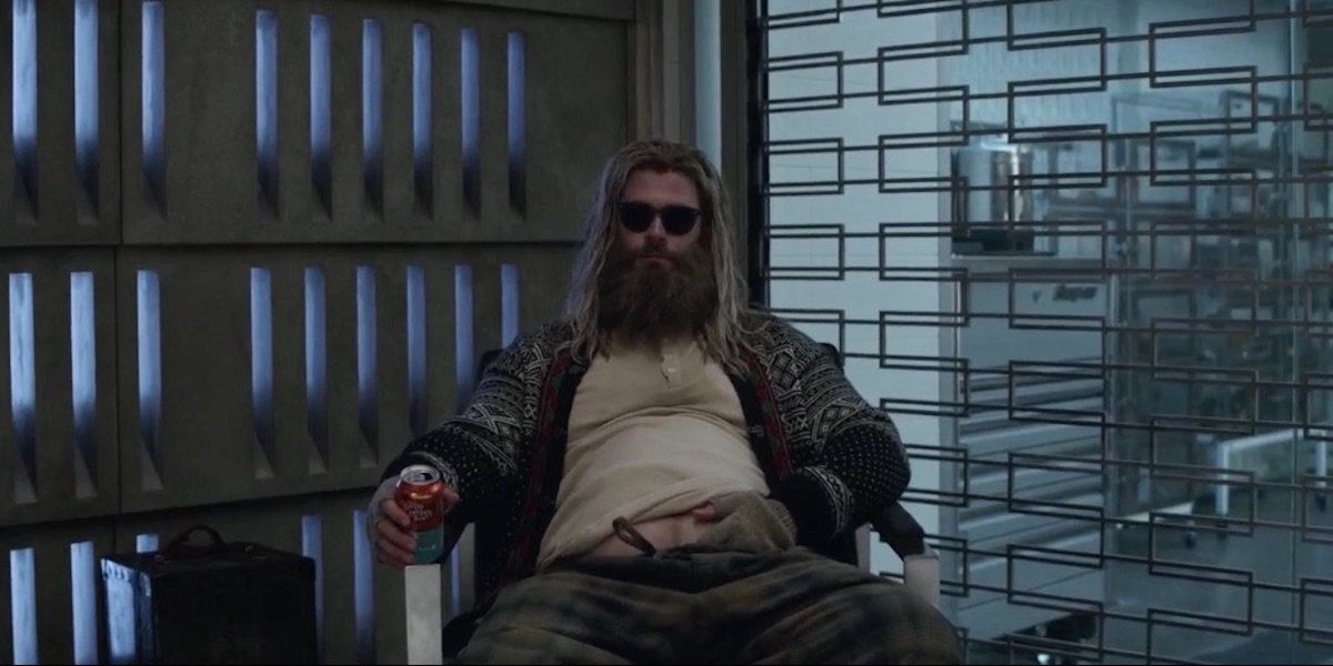 Fat Thor in Avengers: Endgame