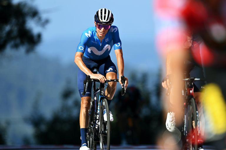 Enric Mas at the Vuelta a España 2021