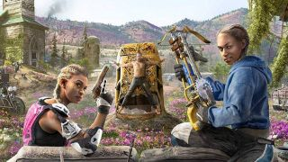 An image of the twins from Far Cry New Dawn