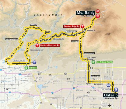 tour of California 2019 route