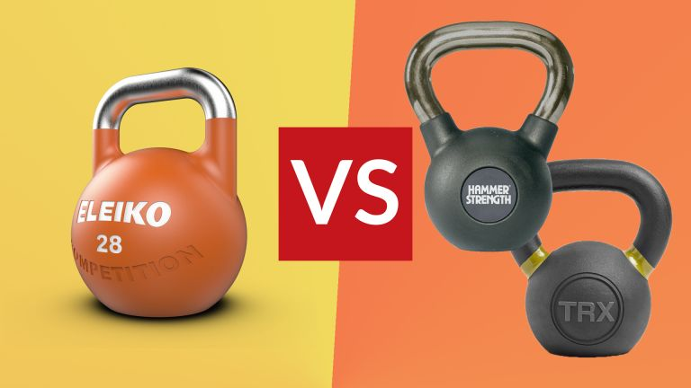 Competition vs training kettlebell