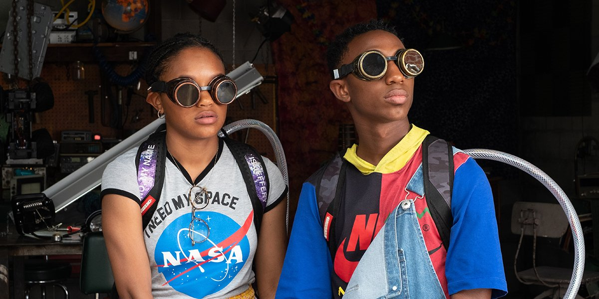 Eden Duncan-Smith and Dante Crichlow in See You Yesterday
