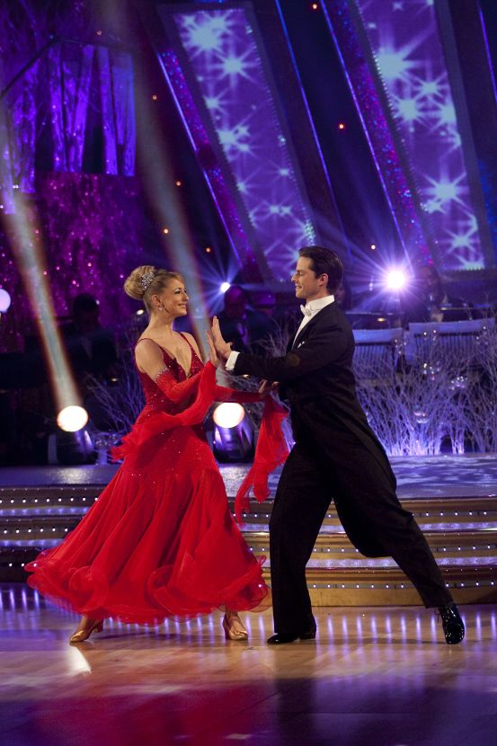 Ali Bastian wins 'Strictly' Christmas special