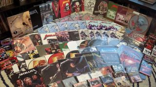 A small part of Doug Brown's Metallica collection