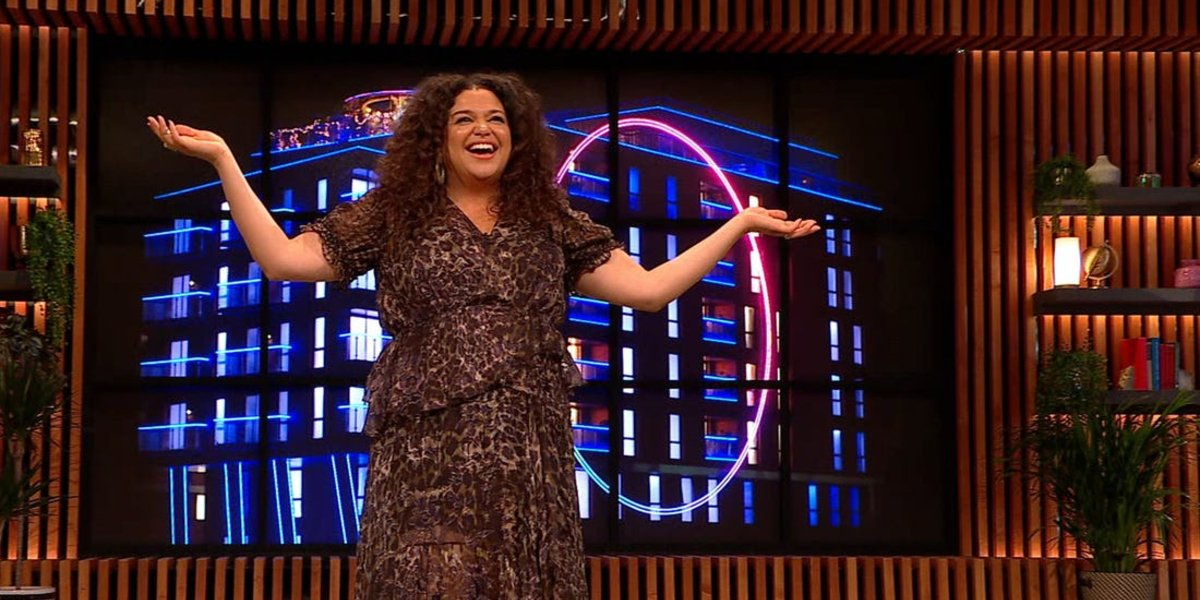 Michelle Buteau on The Circle
