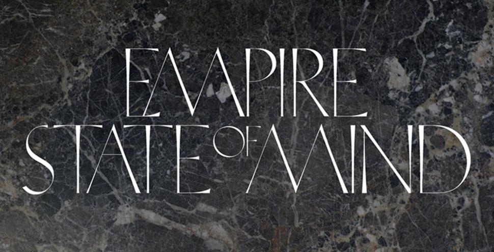 Trojan serif font sample