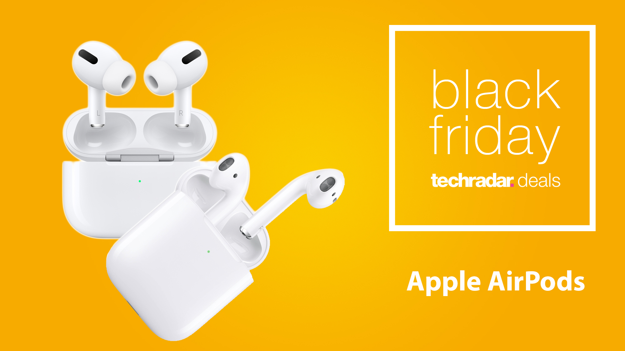 Apple Airpods Black Friday Deals 2020 The Best Airpods Discounts Ahead Of The Big Day Techradar