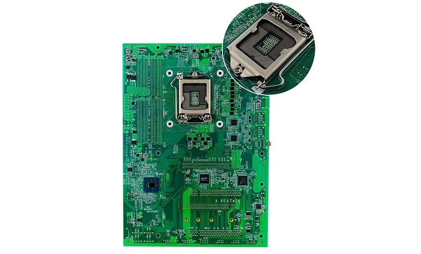 Enctec Concept Motherboard Features CPU Socket on Reverse Side