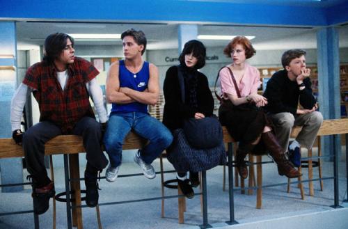The Breakfast Club,Judd Nelson,Emilio Estevez,Ally Sheedy,Molly Ringwald, Anthony Michael Hall