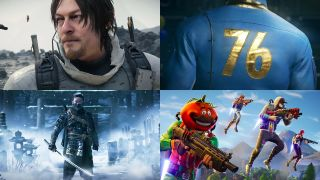 Death Stranding, Fallout 76, Fortnite, Ghost of Tsushima