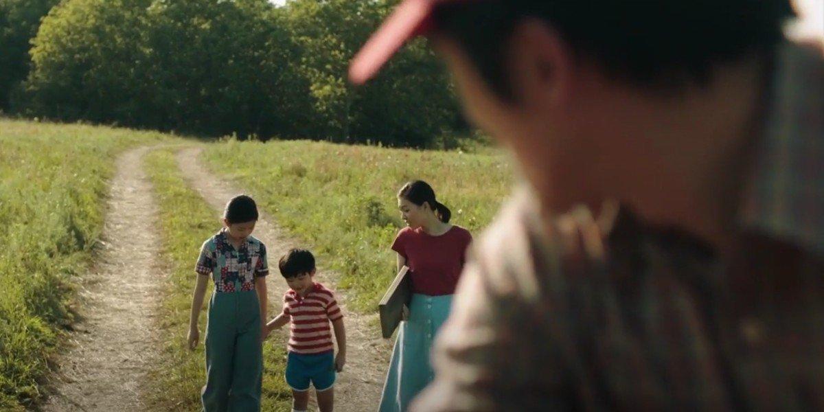 Yeri Han, Steven Yeun, Alan S. Kim, and Noel Cho in Minari