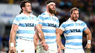 Argentina Pumas rugby front row players