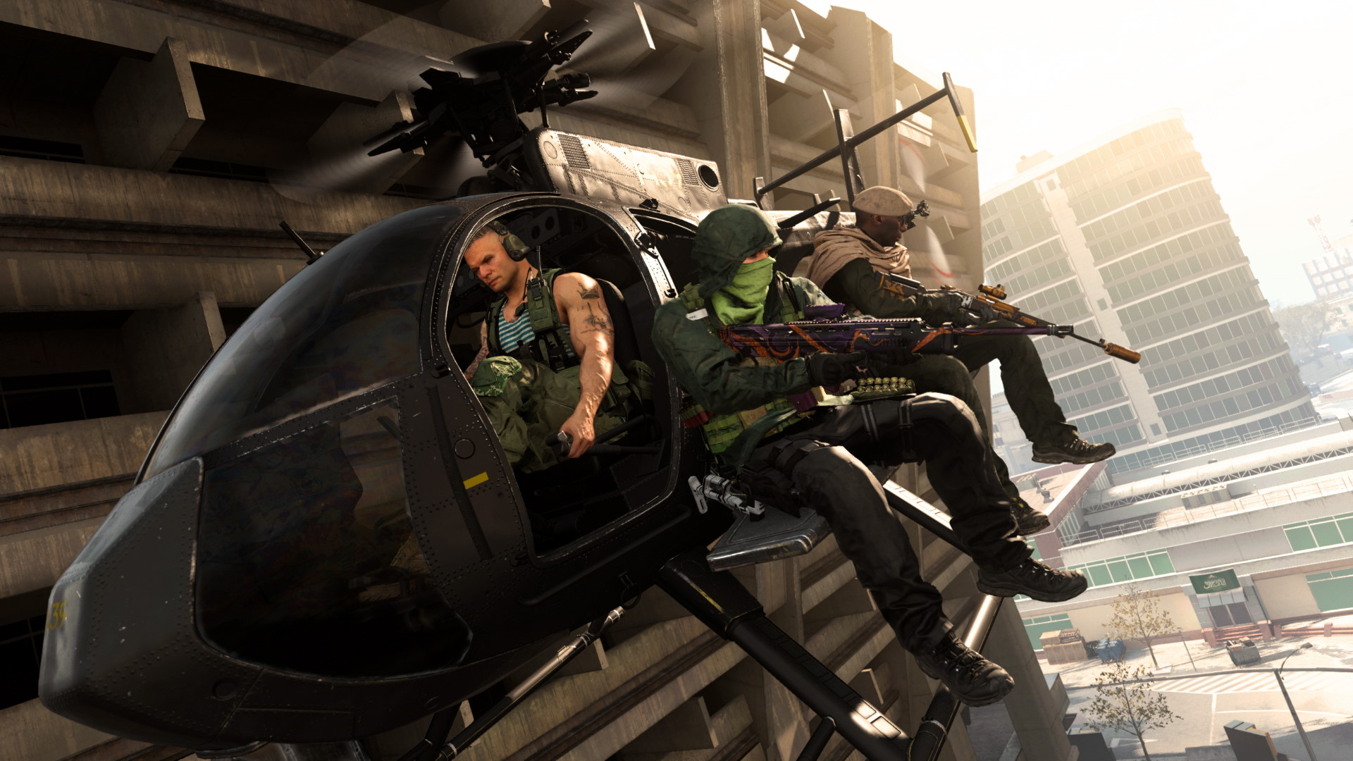Call of Duty: Warzone's attack helicopters are gone again after the invisibility glitch returns