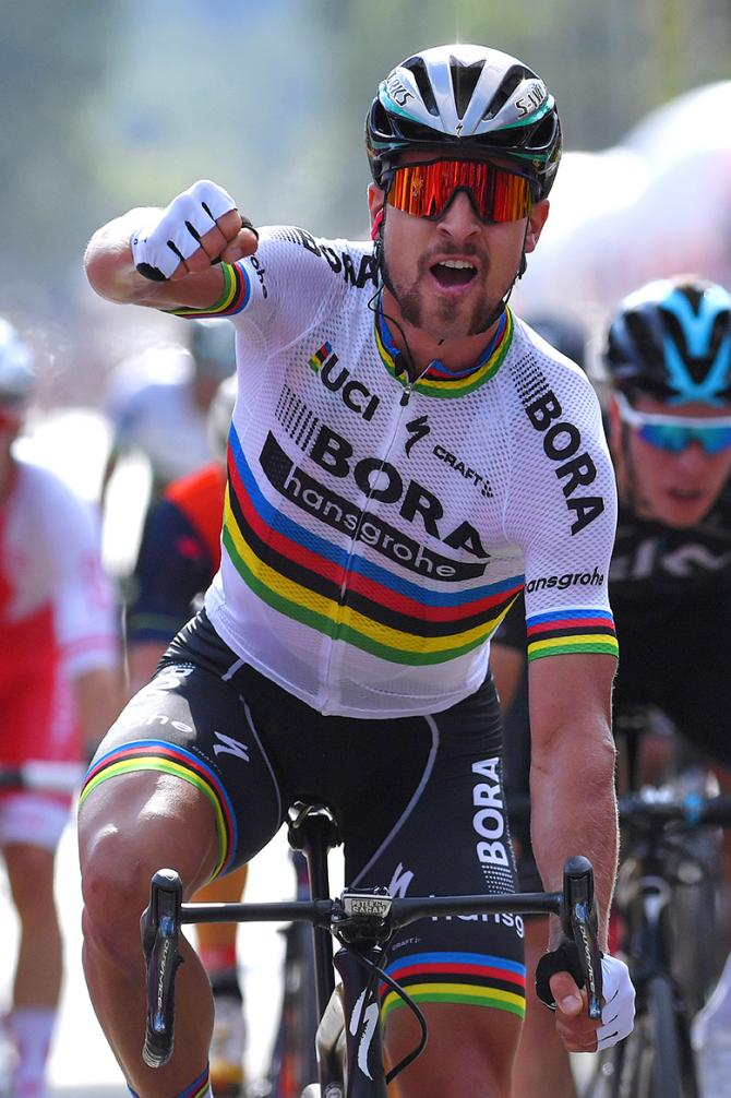 Peter Sagan wins stage 1 of the Tour de Pologne.