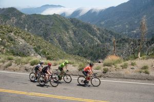 Escape group on stage two of the Tour of California 2016