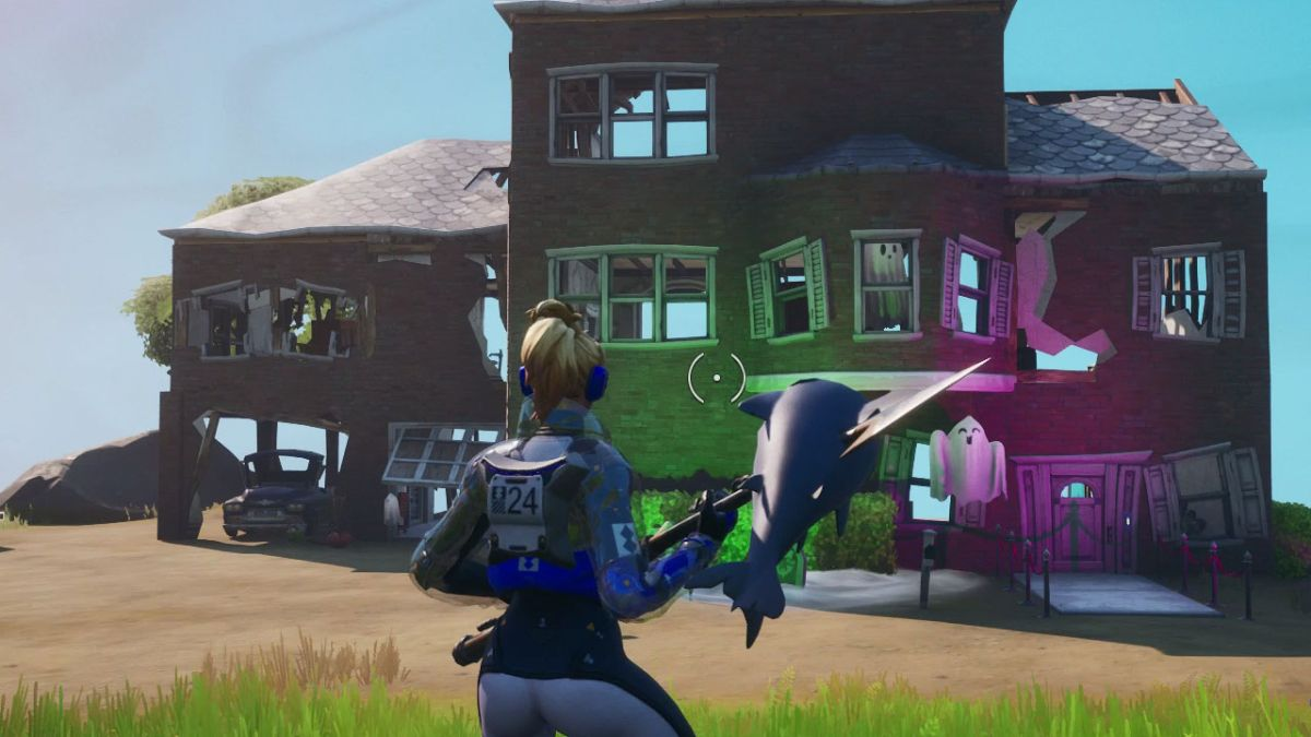 Fortnite Ghost Town Location Where To Find The Ghost Town