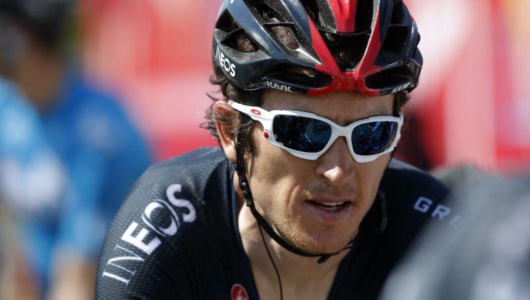 Geraint Thomas on stage five of the Critérium du Dauphiné 2020