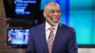 """Actor LeVar Burton as a guest host on """"CBS This Morning"""" on May 18, 2021."""