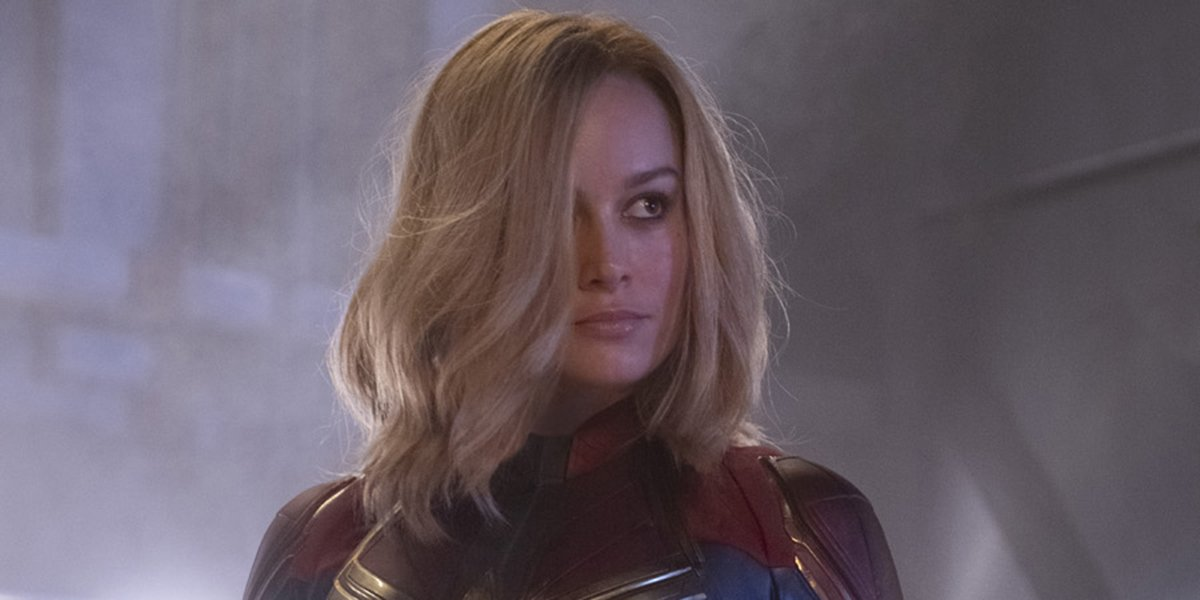 Captain Marvel looking ready for a fight