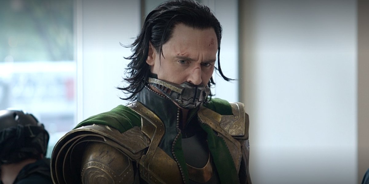 Tom Hiddleston as Loki in Avengers: Endgame Marvel Studios