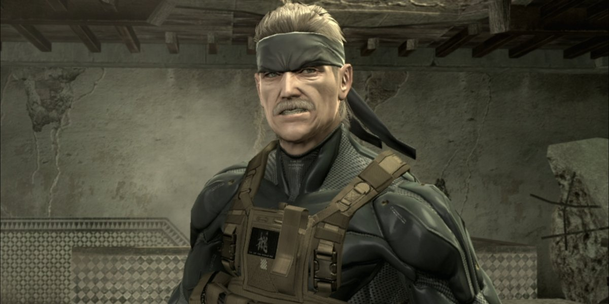 Old Snake in Metal Gear Solid 4: Guns of the Patriots