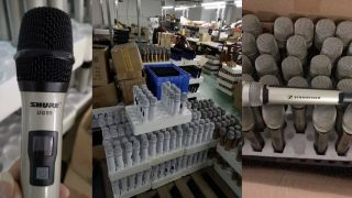 A police raid on a factory in China manufacturing counterfeit products—Enping Soundpu Electronics Equipment (also doing business as Voxpu Electronics Equipment)—was conducted in October 2018.