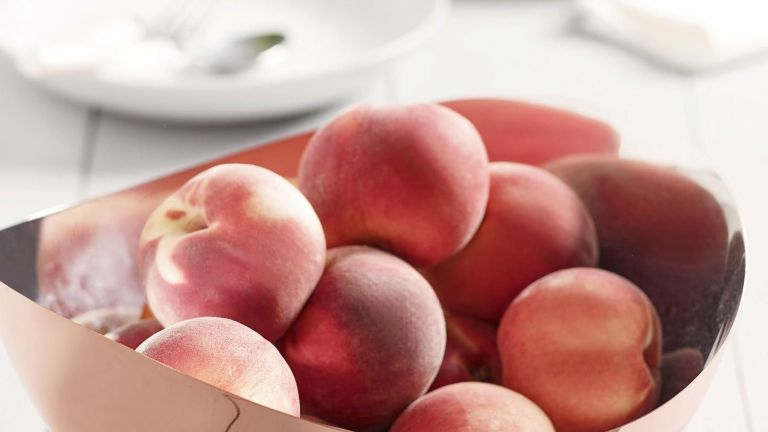 The best fruit bowls: rose gold-effect fruit bowl from Next