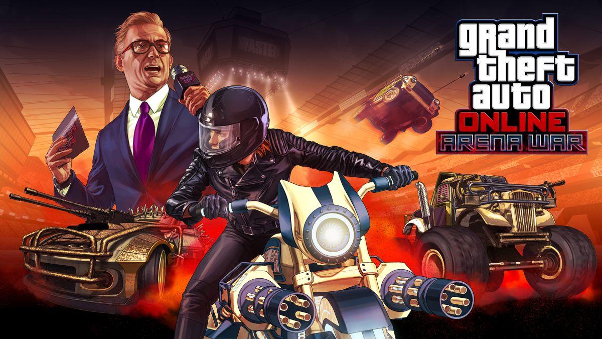 GTA Online meets Twisted Metal in the new Arena War update
