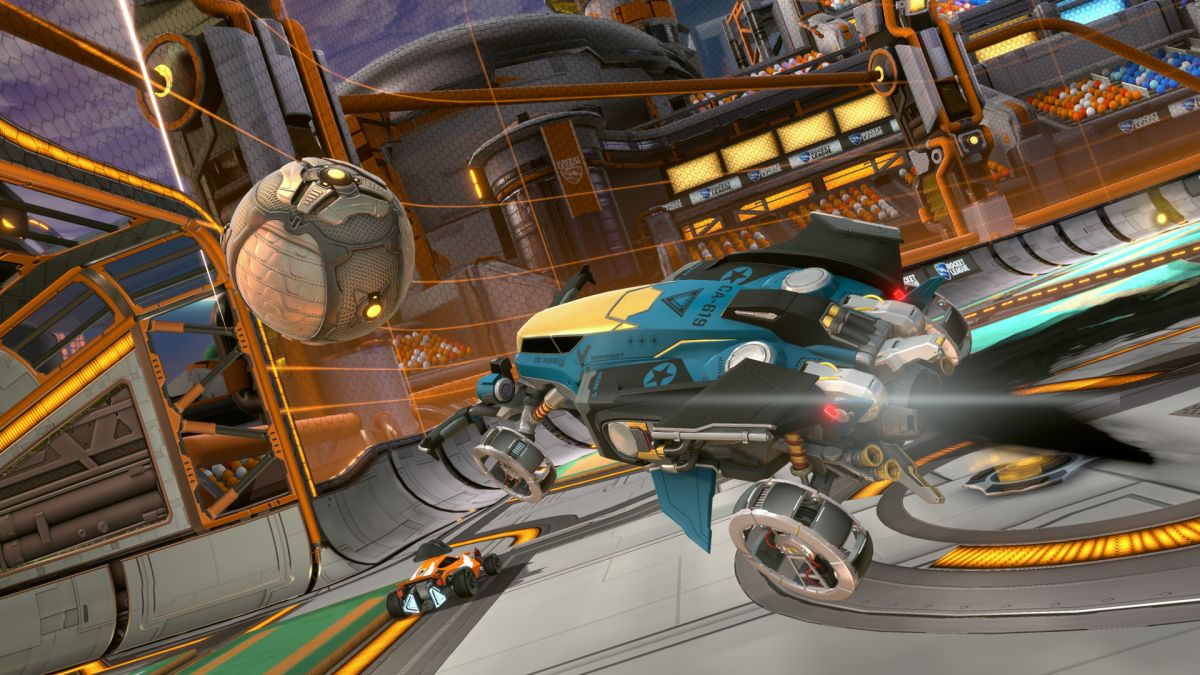 Rocket League Goes Into Space With New Starbase Arc Update Gamesradar