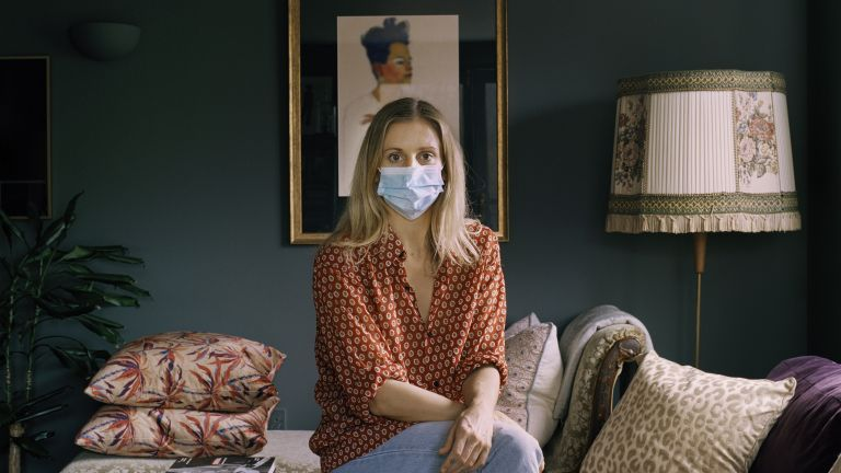 Masked: These photos are raising funds for art therapy for AT The Bus, and the images look as intriguing as they sound