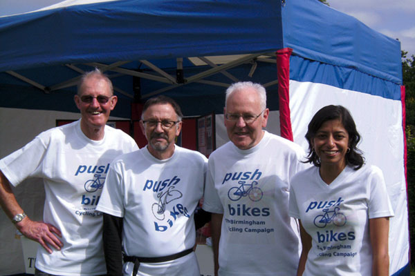 Push Bike committee members